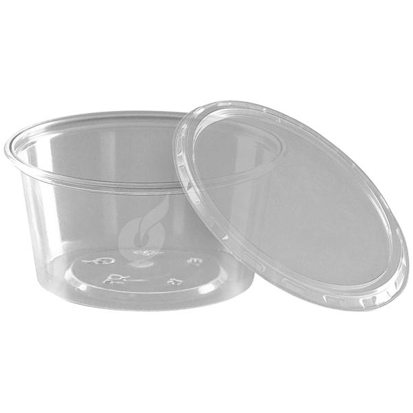 Pro-Pac Verpackbecher transparent Ø 70,3 mm ( 10 x 50 Stück ) online kaufen - Verwendung 1