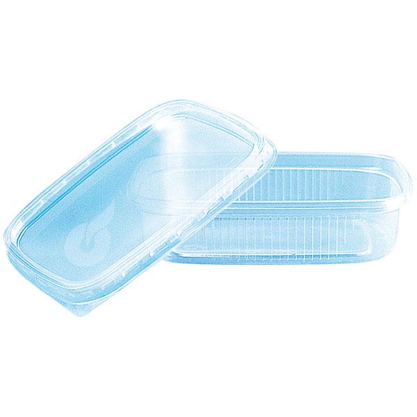 Pro-Pac Verpackungsbecher und Deckel eckig im Kombipack - Saladboxx