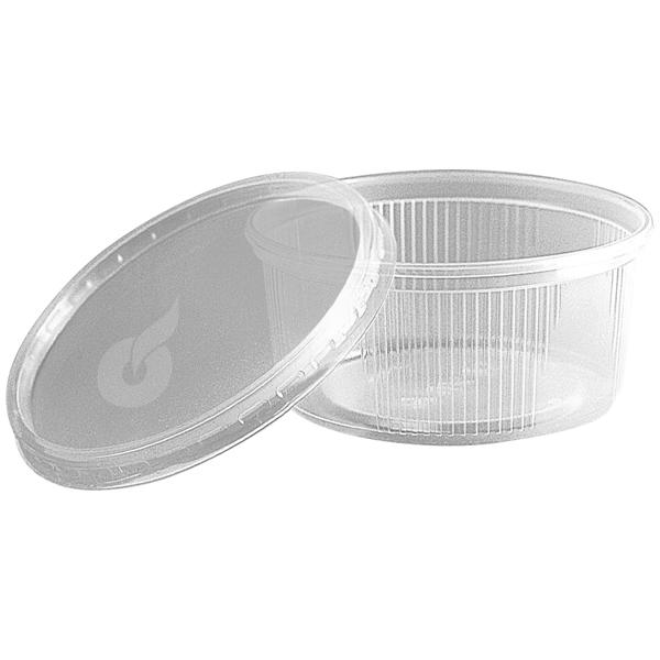 Pro-Pac Verpackbecher transparent Ø 101 mm ( 5 x 50 Stück ) online kaufen - Verwendung 1