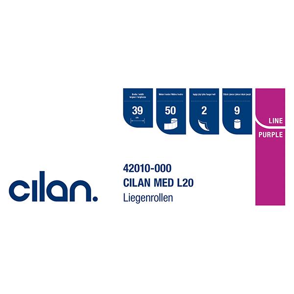 Cilan-Med L20 - PurpleLine - Liegenauflage