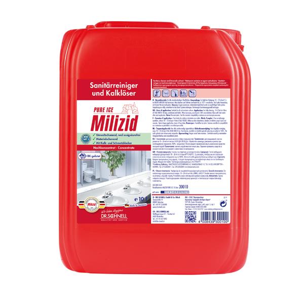 Dr.Schnell Milizid Pure Ice Sanitärreiniger 10 Liter