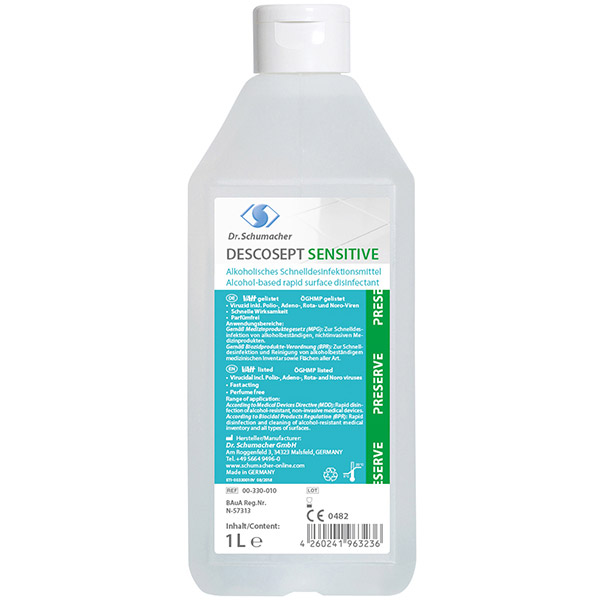 Dr.Schumacher Descosept Sensitive Schnell-Desinfektion 1 Liter