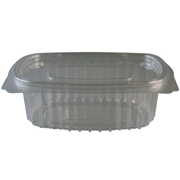Vorschau: Salatschale oval glasklar 184x158x66 mm ( 50 Stück ) online kaufen - Verwendung 1