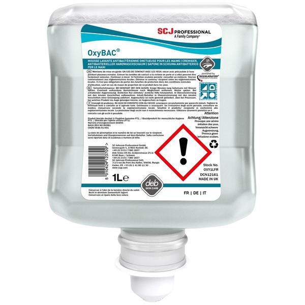 OxyBAC® FOAM Wash antimikrobieller Schaumreiniger 6 x 1 Liter