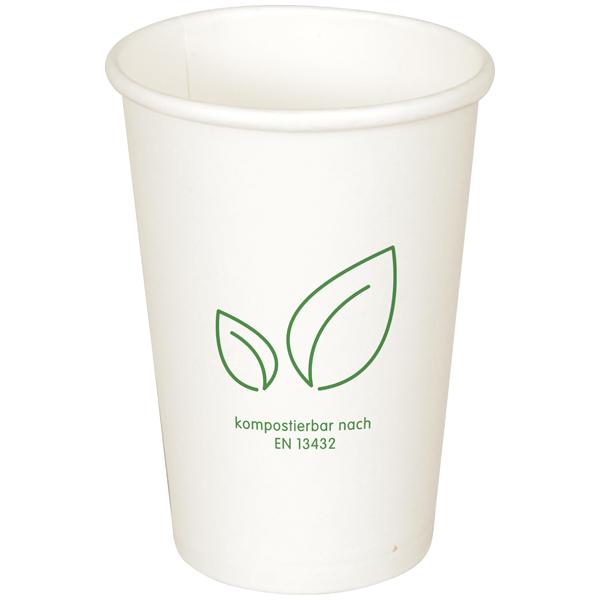 Coffee-Cup Bio weiß 250 ml