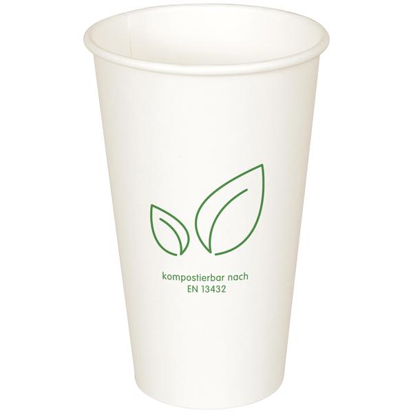 Coffee-Cup Bio weiß 400 ml