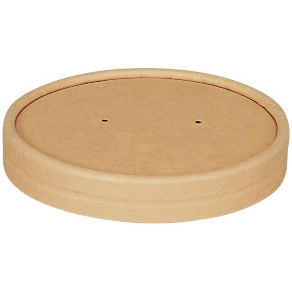 Deckel für Suppenbecher braun Ø 97 mm ( 25 Stück ) online kaufen - Verwendung 1