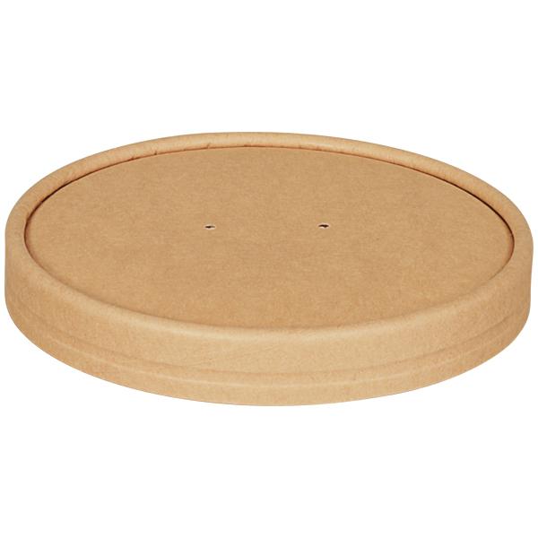Deckel für Suppenbecher braun Ø 116 mm ( 25 Stück )