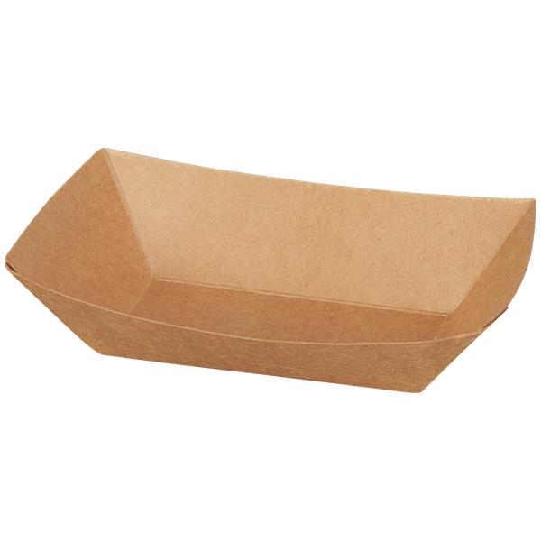 Schiffchen Papier braun 220ml