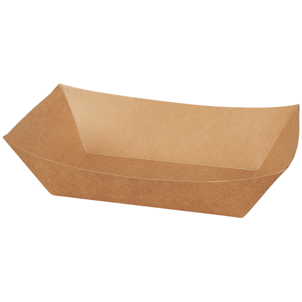Schiffchen Papier braun 800ml