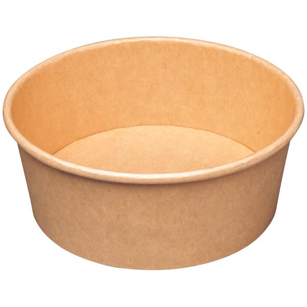 Salatschale braun Ø 150 mm ( 50 Stück )