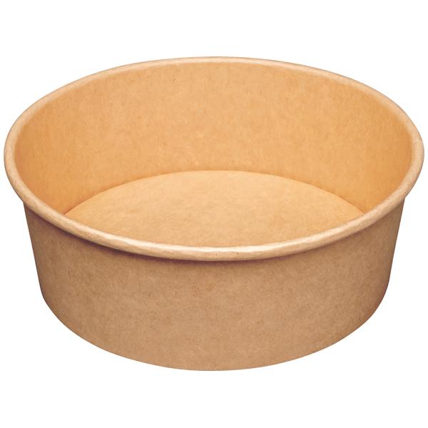 Salatschale braun Ø 185 mm ( 50 Stück ) online kaufen - Verwendung 1