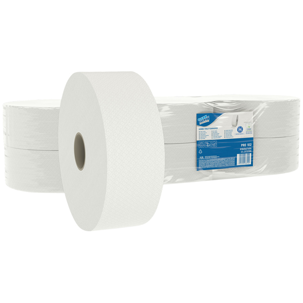 CLEAN and CLEVER PROFESSIONAL Jumbo-Toilettenpapier PRO 102