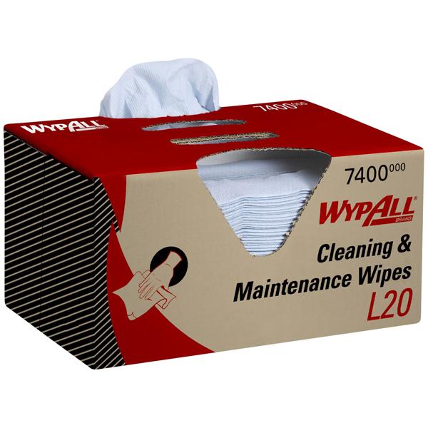 Wypall® L20 Papierwischtuch blau 7400