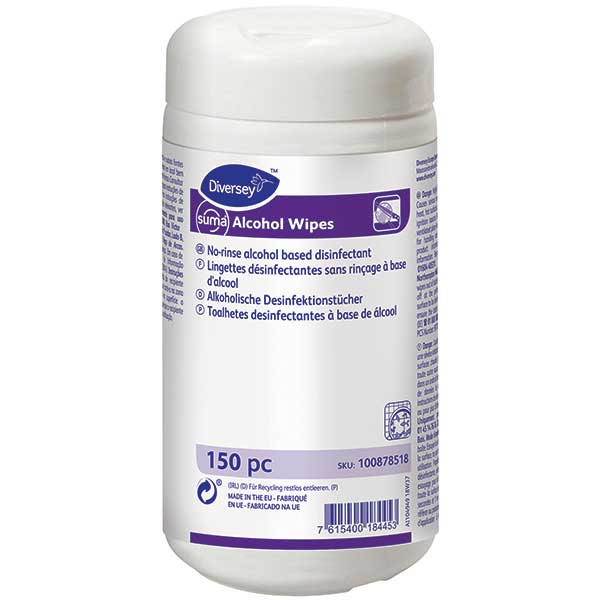 Suma Alcohol XL Wipes Desinfektionstücher 150 Stück
