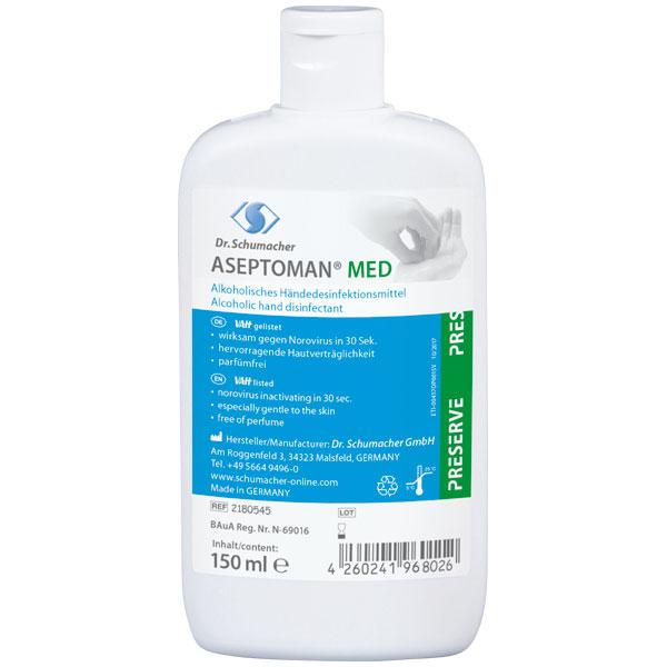Dr.Schumacher Aseptoman® MED Händedesinfektionsmittel 150 ml