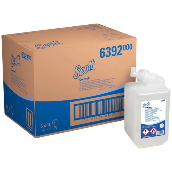 Scott® Control™ Händedesinfektions-Schaum 6 x 1 Liter
