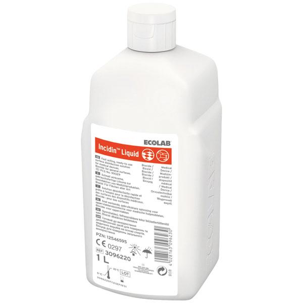 ECOLAB Incidin™Liquid Schnelldesinfektion 1 Liter
