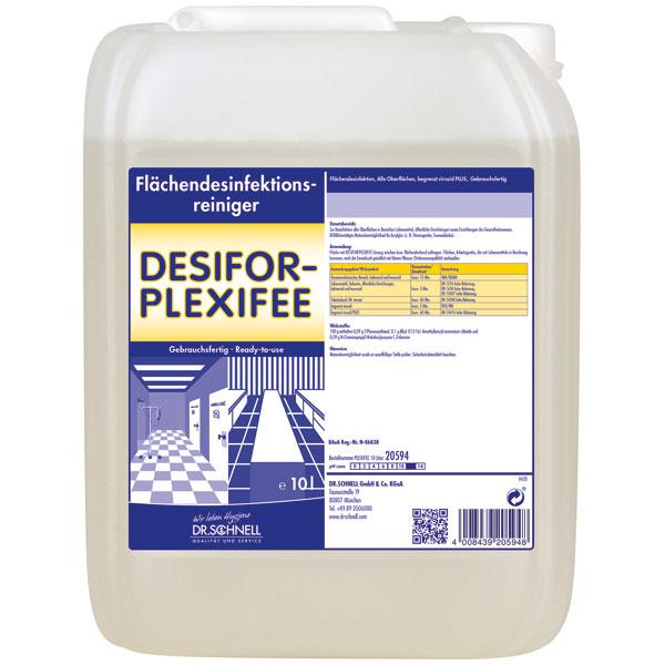 Dr.Schnell Desifor-Plexifee Flächendesinfektion 10 Liter