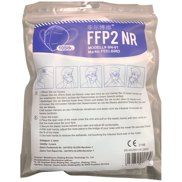 Partikelmaske FFP2