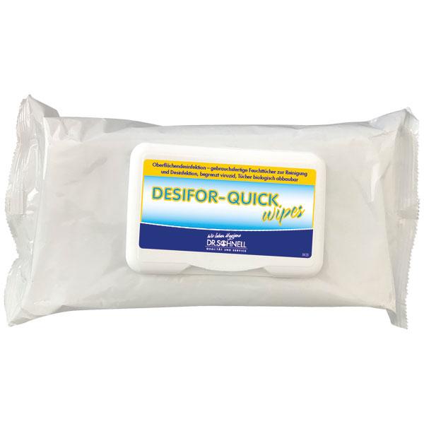 Dr.Schnell Desifor-Quick Wipes Desinfektionstücher 80 Stück