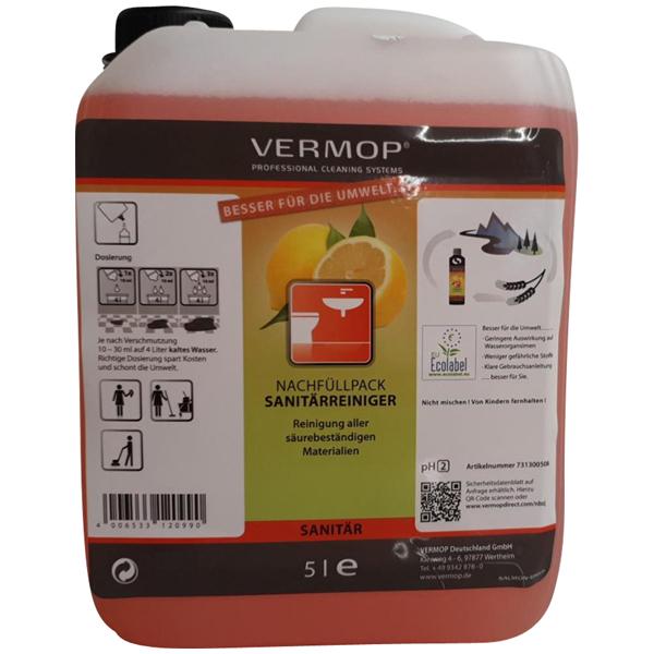 Vermop VermoSan ECO Sanitärreiniger 5 Liter