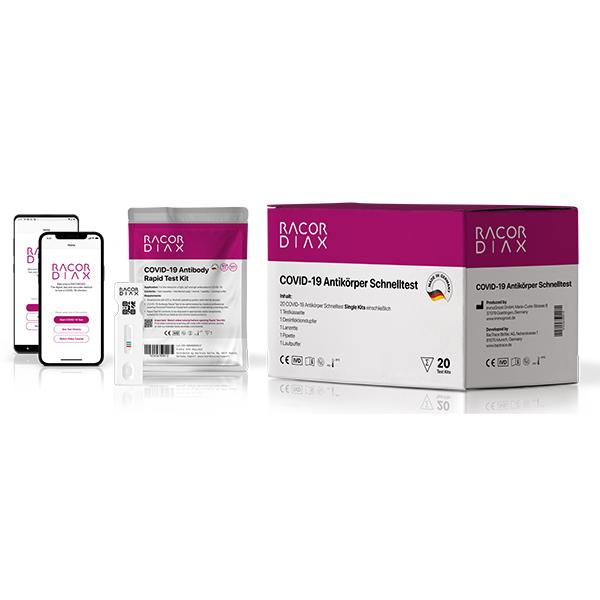 RACORDIAX COVID-19 Antibody Rapid Test online kaufen - Verwendung 1