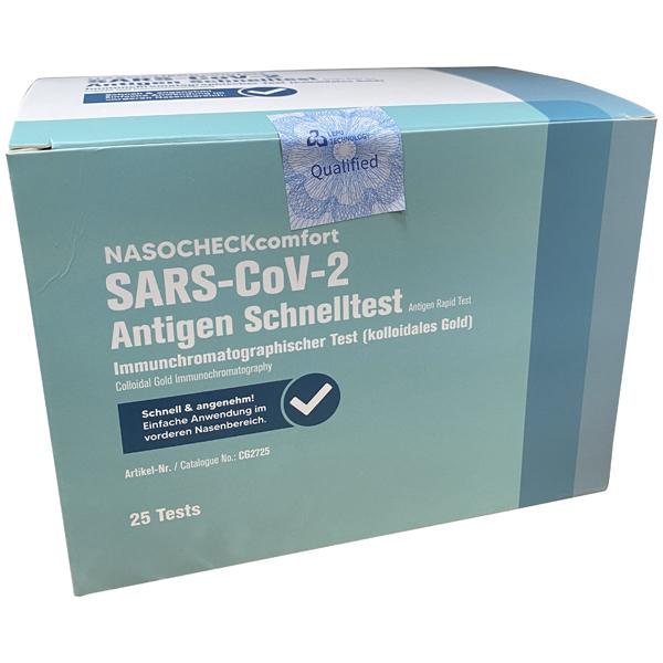 NASOCHECKcomfort Coronavirus 2019-nCoV- LEPU Antigentest Nasal