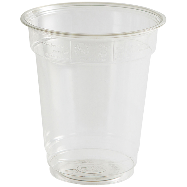 Trinkbecher rPET glasklar - Pulsar Straight 300 ml ( 50 Stück )