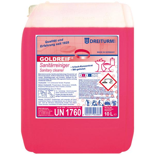 Dreiturm Goldreif Sanitärreiniger 10 Liter