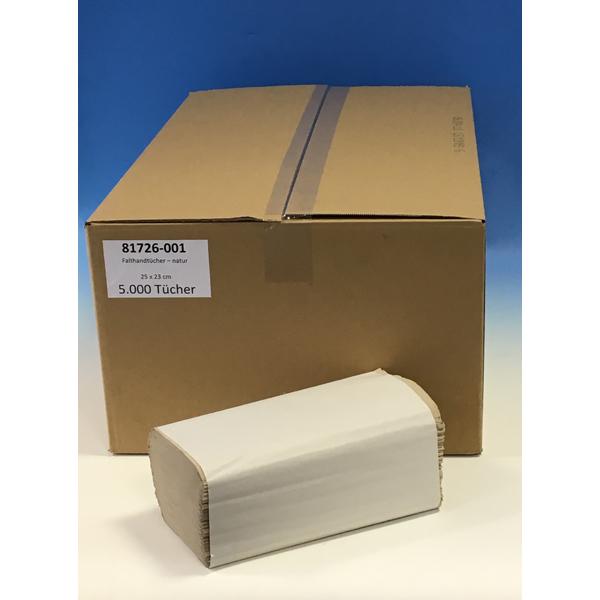 Krepp Papierhandtücher 25 x 23 cm