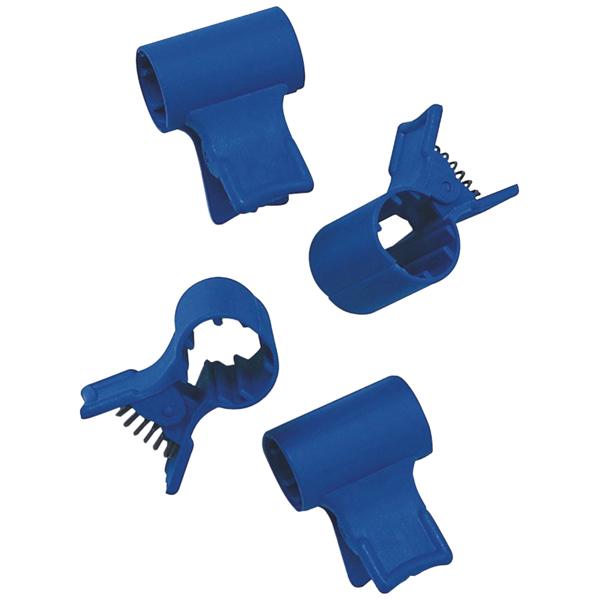 Meiko Clip blau mit Feder