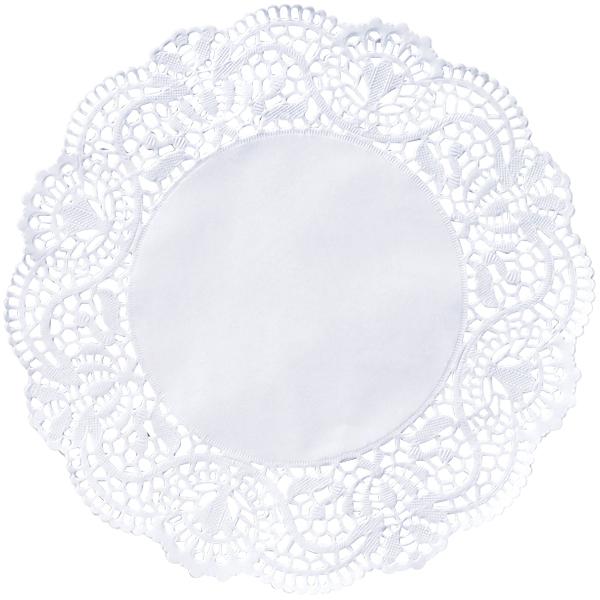 Duni Tortenspitzen rund 19 cm weiß