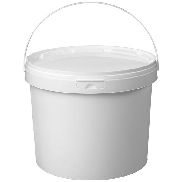 Eimer Superlift weiß Ø 266 mm ( ohne Deckel ) 10,8 Liter