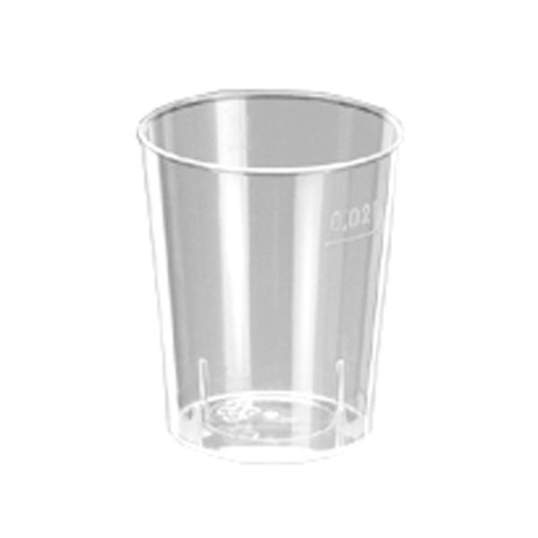 Schnapsglas 2 cl mit Eichstrich