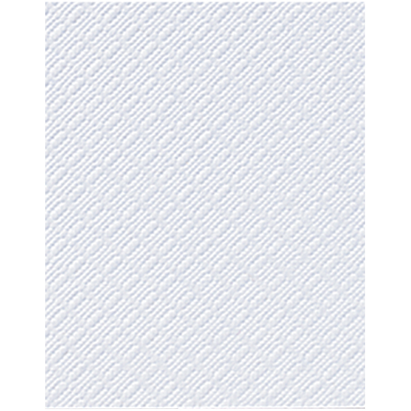Duni Präge-Servietten 33 x 33 cm weiß