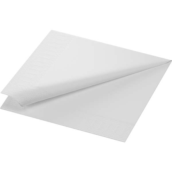 Duni Servietten 40 x 40 cm weiß