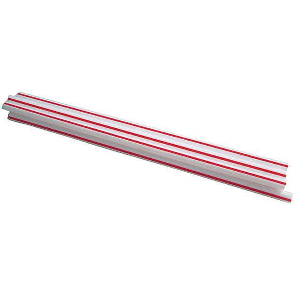Trinkhalm starr 20 cm rot/weiß