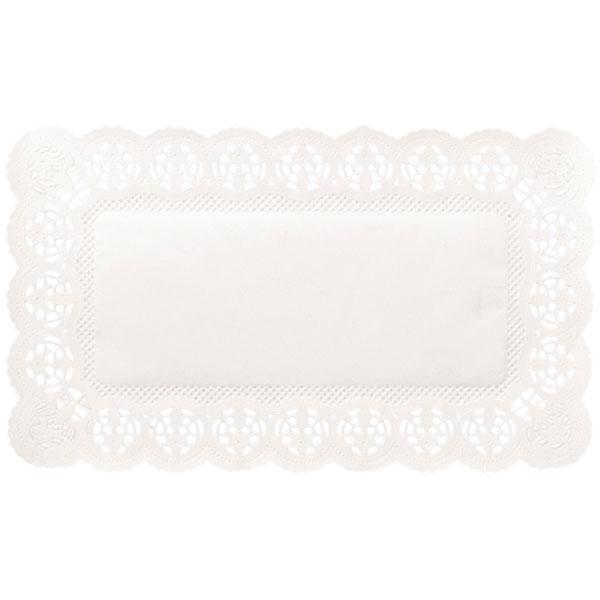Spitzenpapier eckig Dekor: Gastronom 32,5 x 53 cm