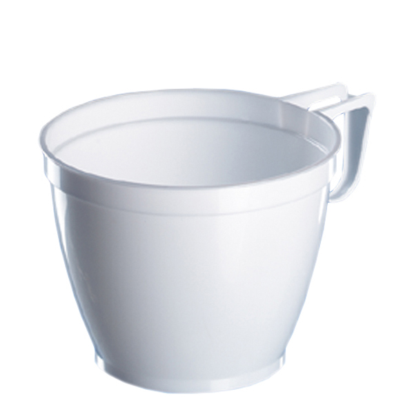 Kaffeetasse PS weiß