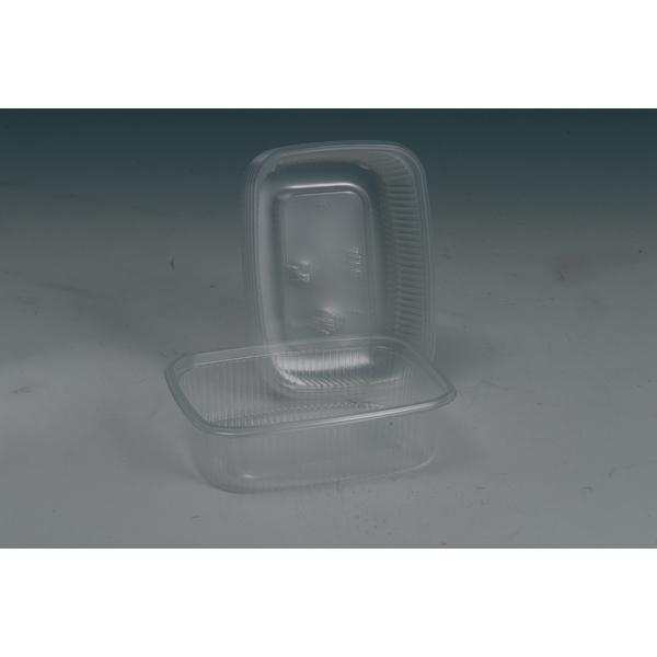 Verpackungsbecher 125 ml eckig 108 x 82 mm