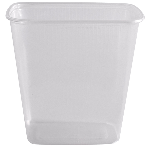 Verpackungsbecher eckig 500 ml