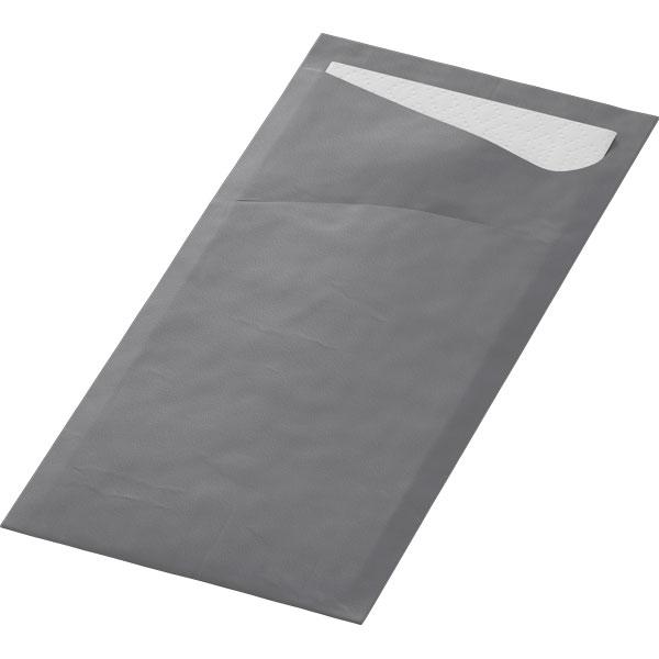Duni Sacchetto Bestecktasche granite-grey