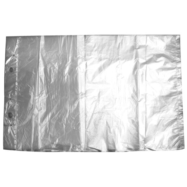 Abrissbeutel 250 x 370 + 30 mm transparent
