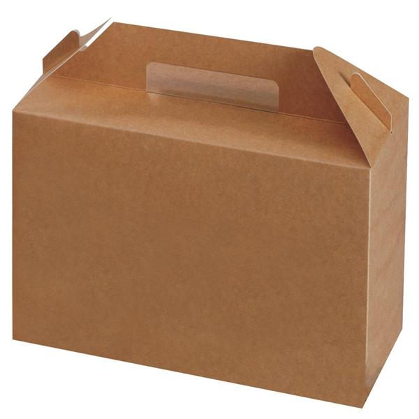 Lunchbox 265 x 128 x 180 mm, mit Griff