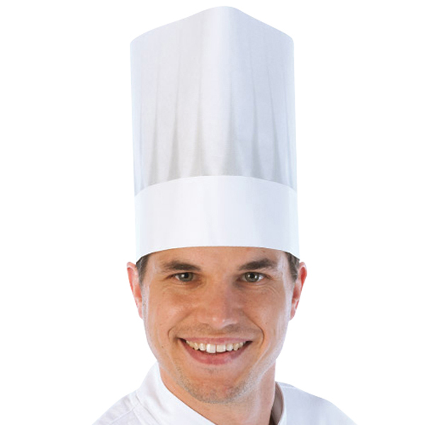 Einweg-Kochmütze Europa