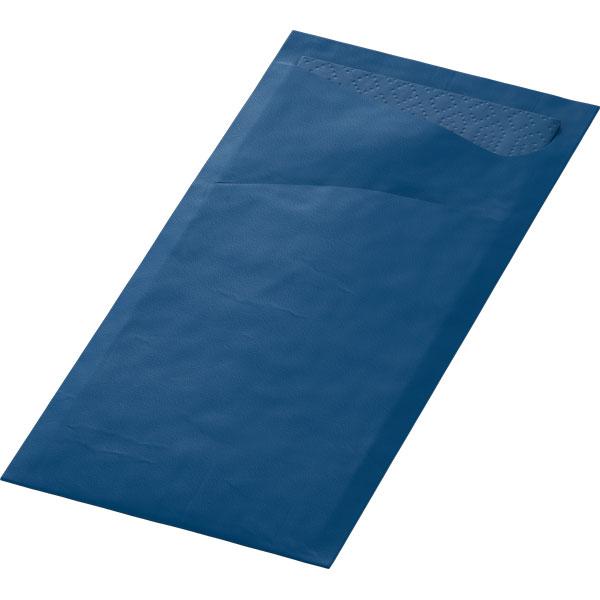 Duni Sacchetto Bestecktasche dunkelblau