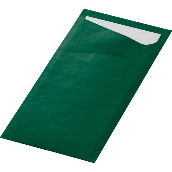 Duni Sacchetto Bestecktasche jägergrün