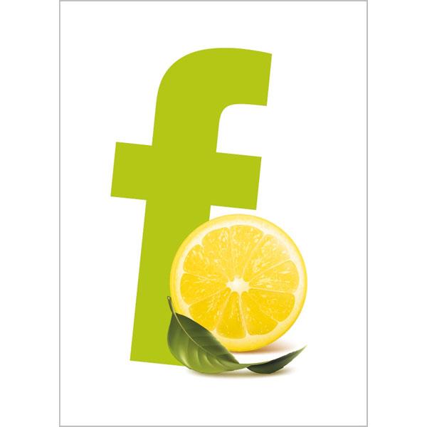 Duni Erfrischungstuch Lemon