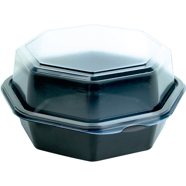 Duni Salatschale ungeteilt schwarz 160x160x80 mm ( 405 Stück )